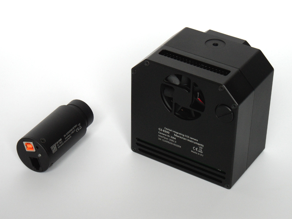 G2-0402, G2-1600 and G2-3200 CCD Cameras